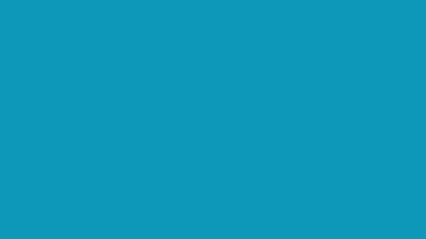 1366x768 Blue-green Solid Color Background