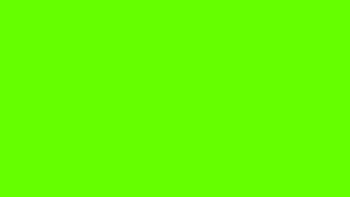 1366x768 Bright Green Solid Color Background