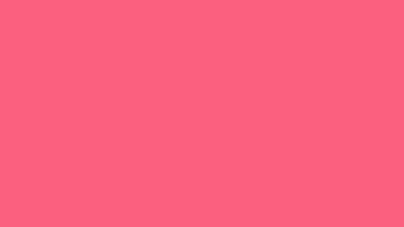 1366x768 Brink Pink Solid Color Background