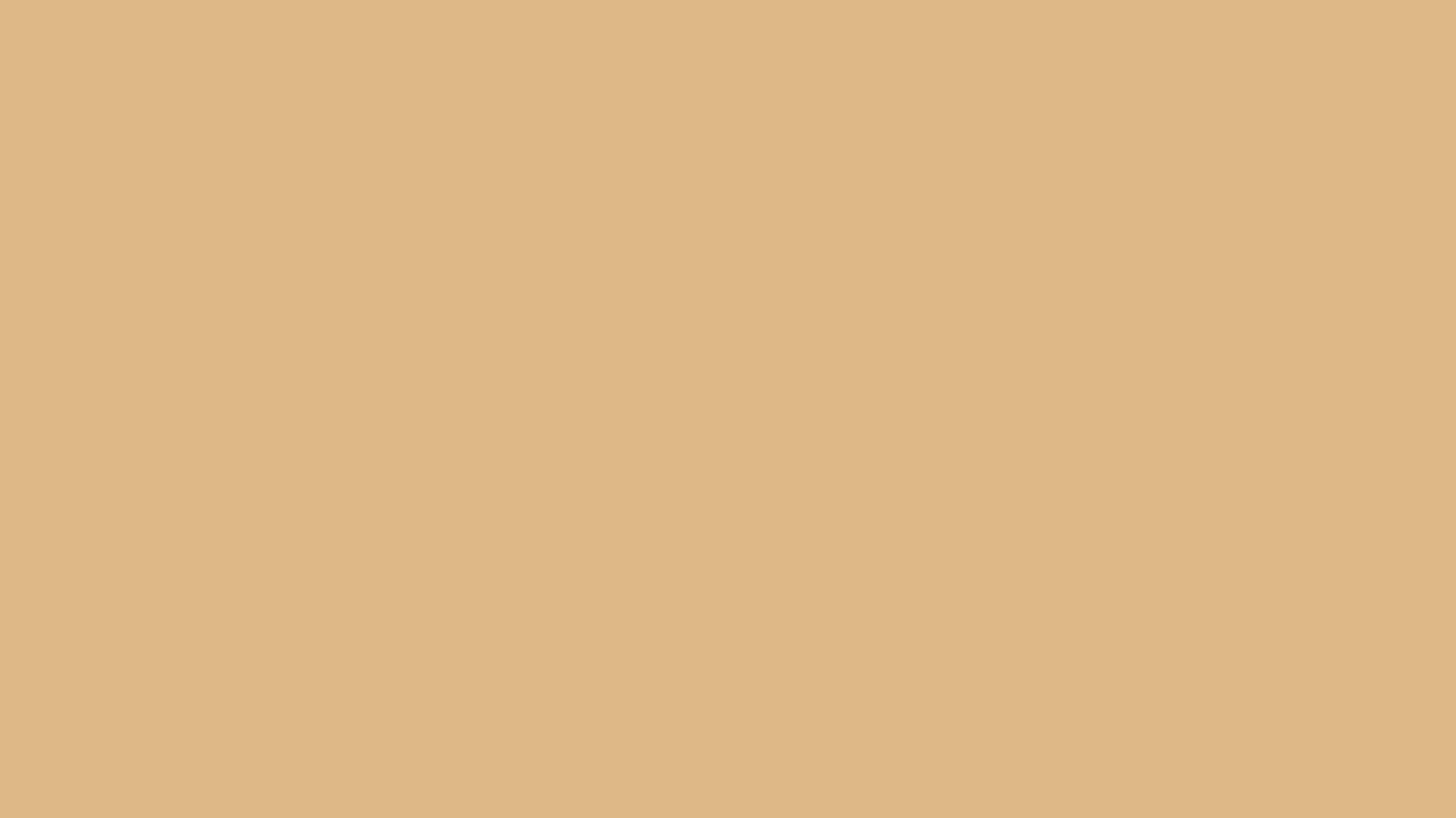 1366x768 Burlywood Solid Color Background