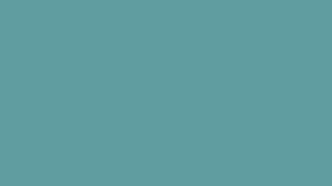 1366x768 Cadet Blue Solid Color Background