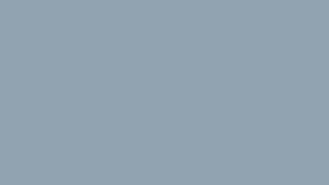 1366x768 Cadet Grey Solid Color Background