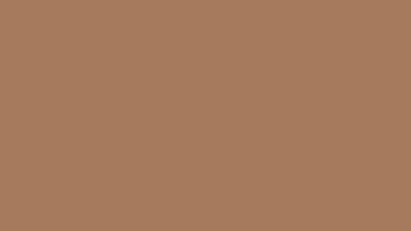 1366x768 Cafe Au Lait Solid Color Background