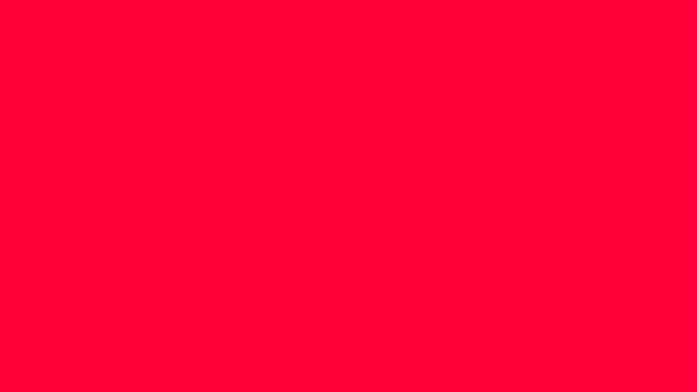 1366x768 Carmine Red Solid Color Background