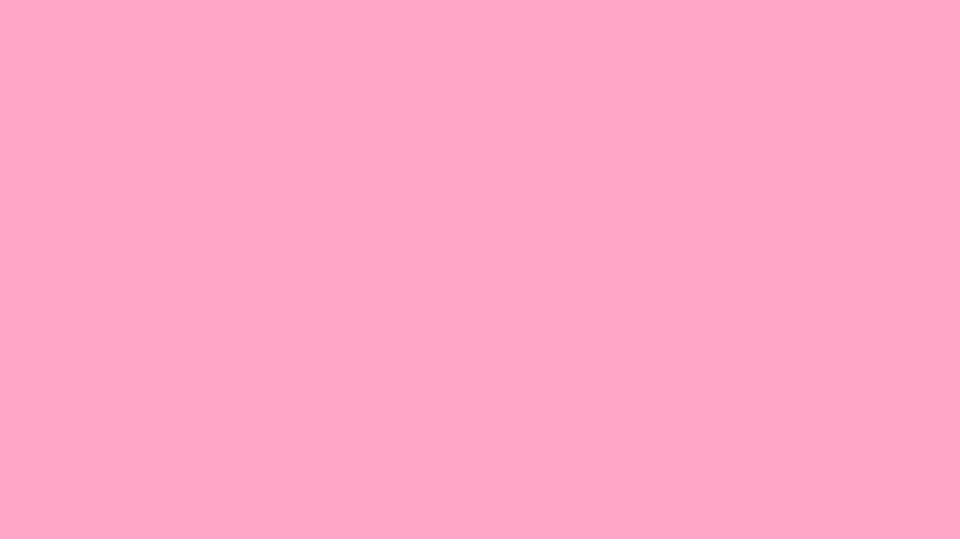 1366x768 Carnation Pink Solid Color Background