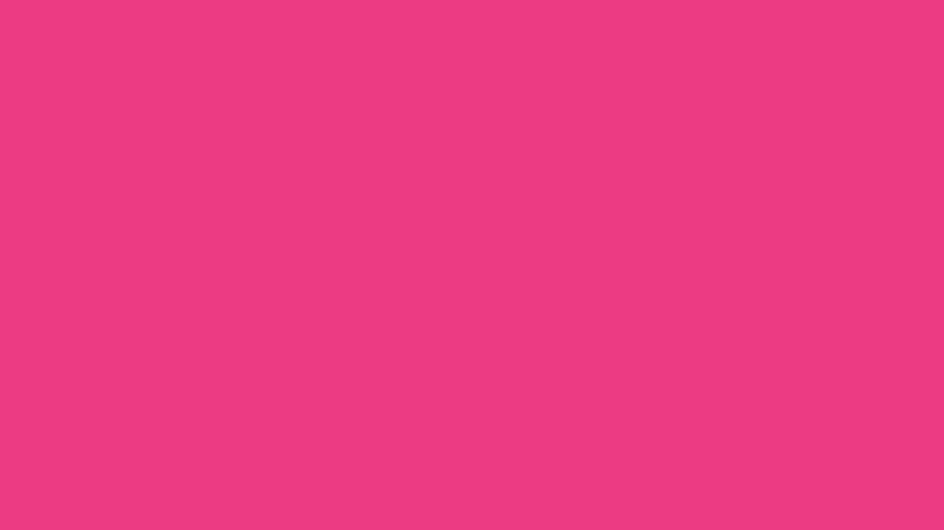 1366x768 Cerise Pink Solid Color Background