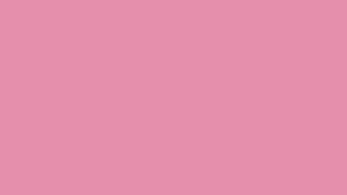 1366x768 Charm Pink Solid Color Background