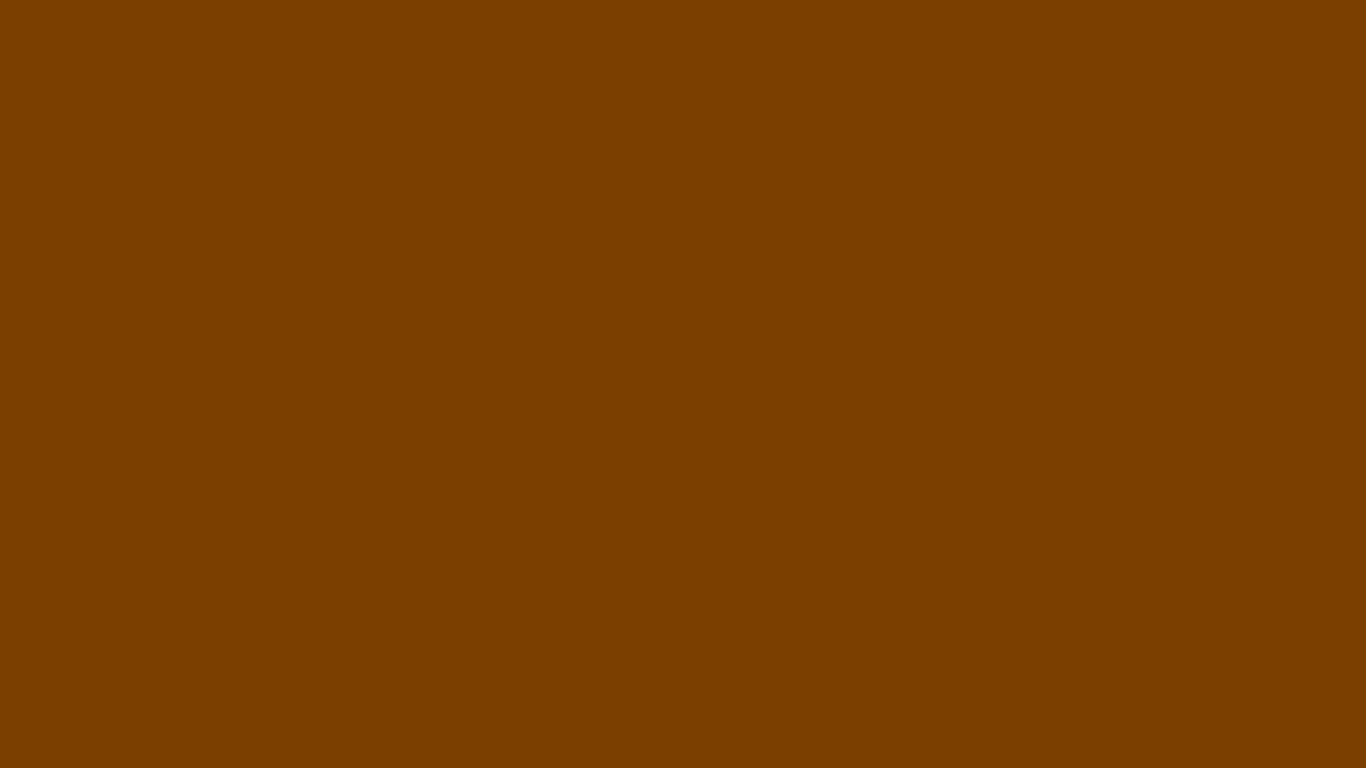 1366x768 Chocolate Traditional Solid Color Background
