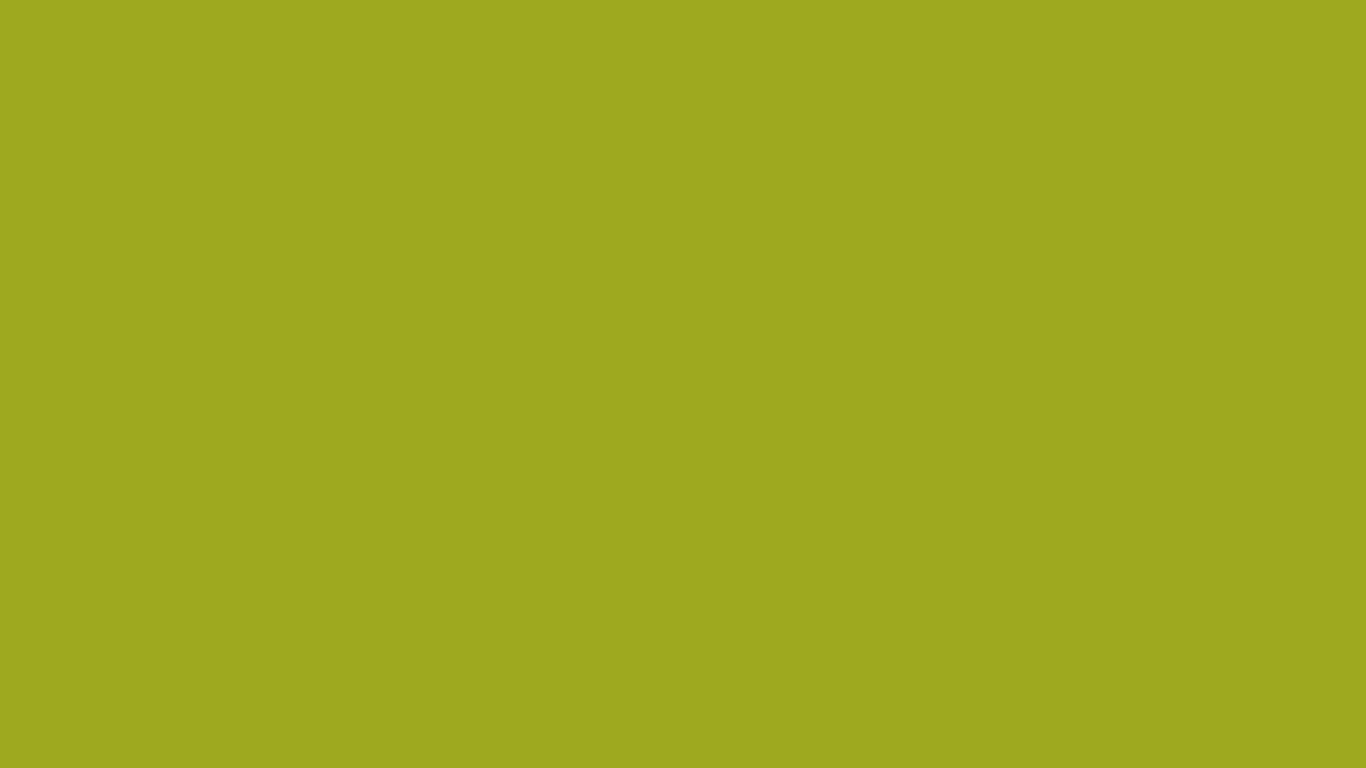 1366x768 Citron Solid Color Background
