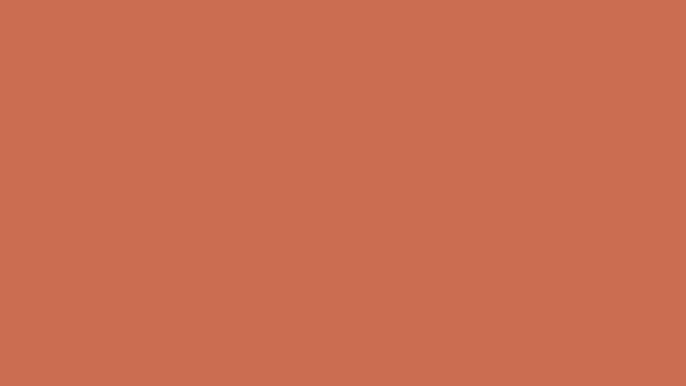1366x768 Copper Red Solid Color Background