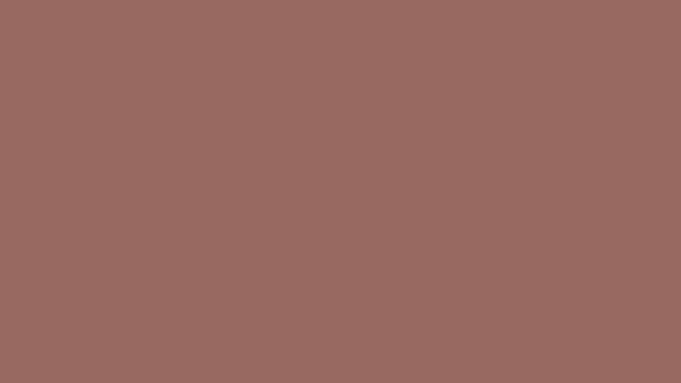 1366x768 Dark Chestnut Solid Color Background