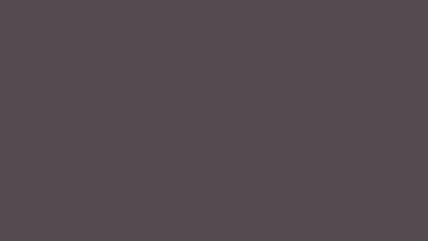 1366x768 Dark Liver Solid Color Background