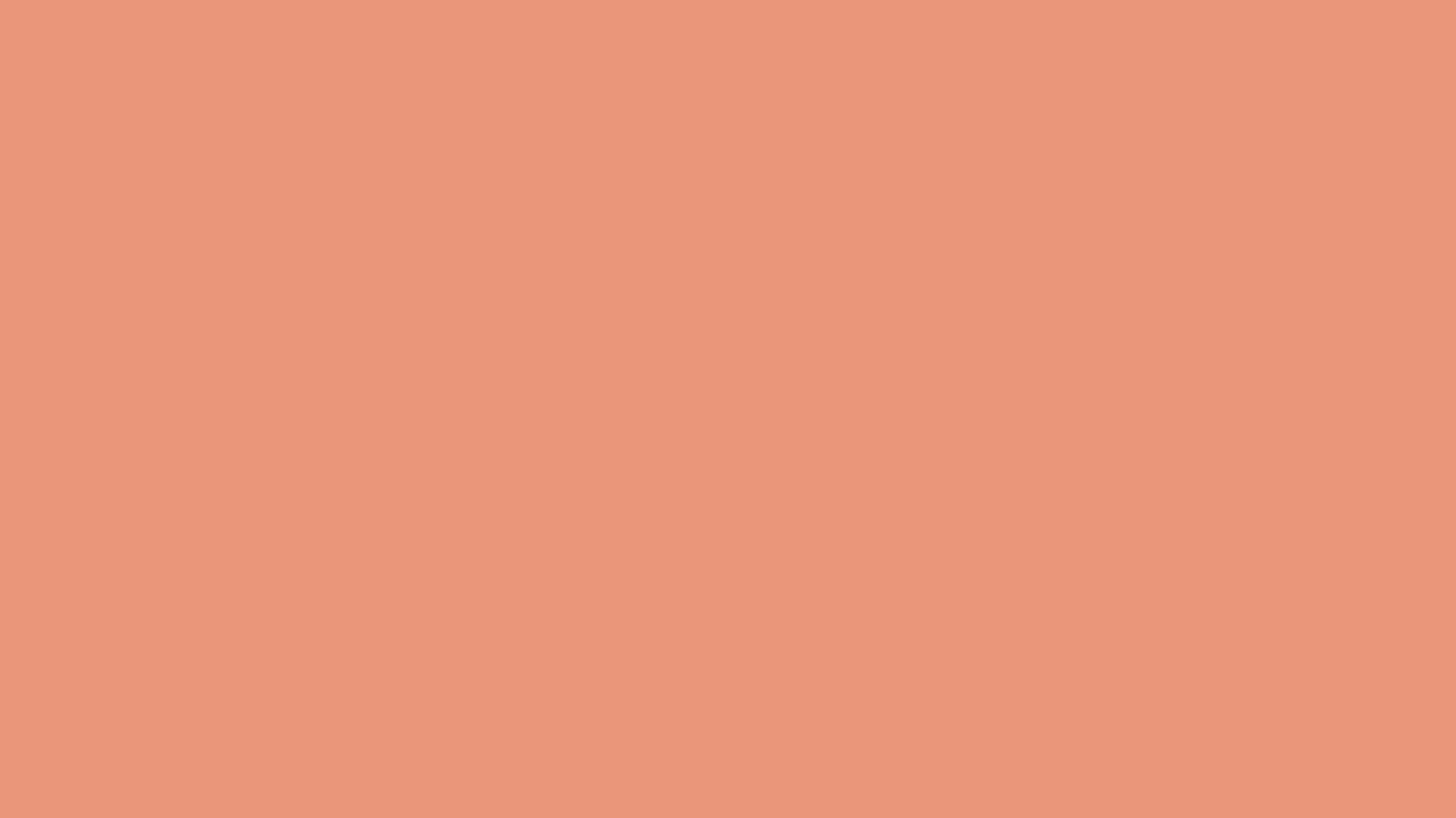 1366x768 Dark Salmon Solid Color Background