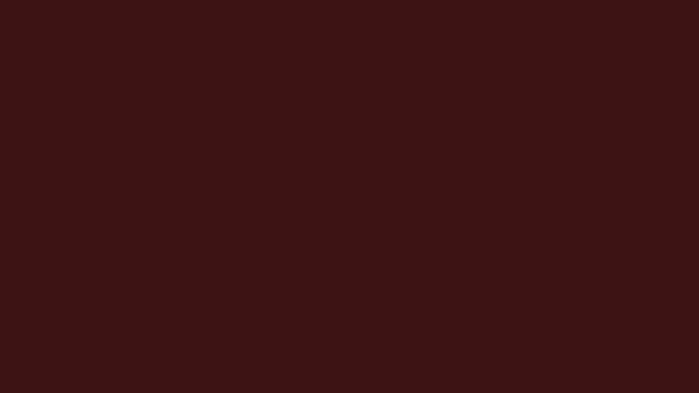 1366x768 Dark Sienna Solid Color Background