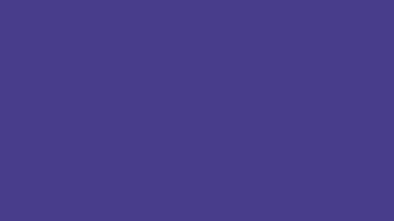 1366x768 Dark Slate Blue Solid Color Background