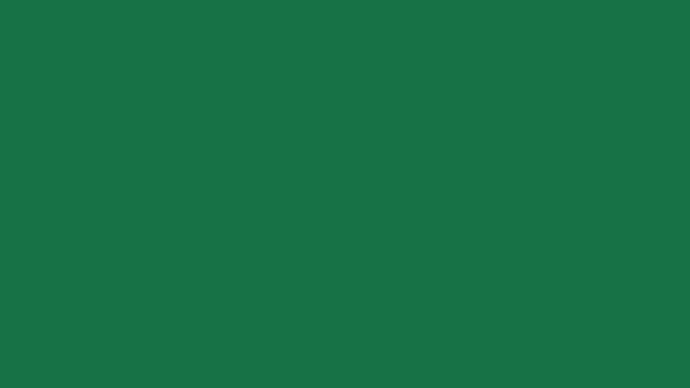 1366x768 Dark Spring Green Solid Color Background