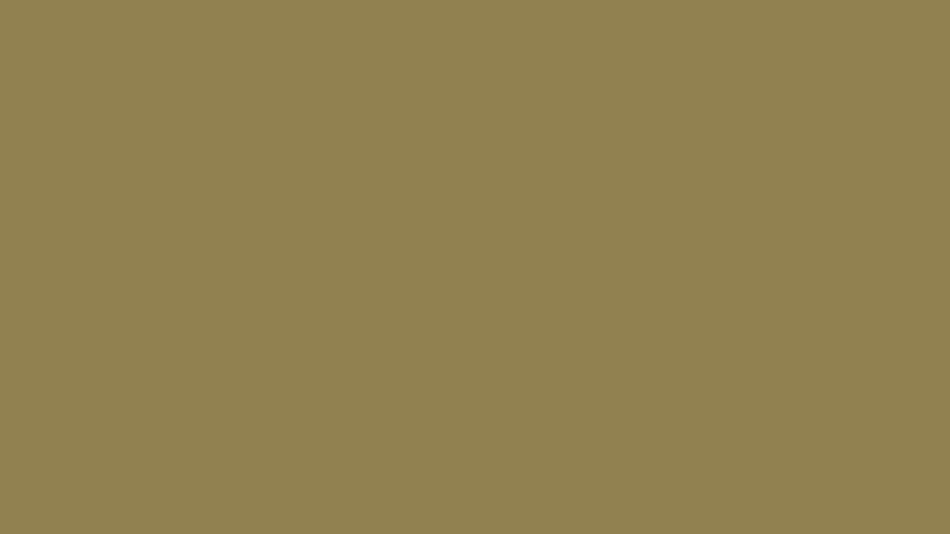 1366x768 Dark Tan Solid Color Background