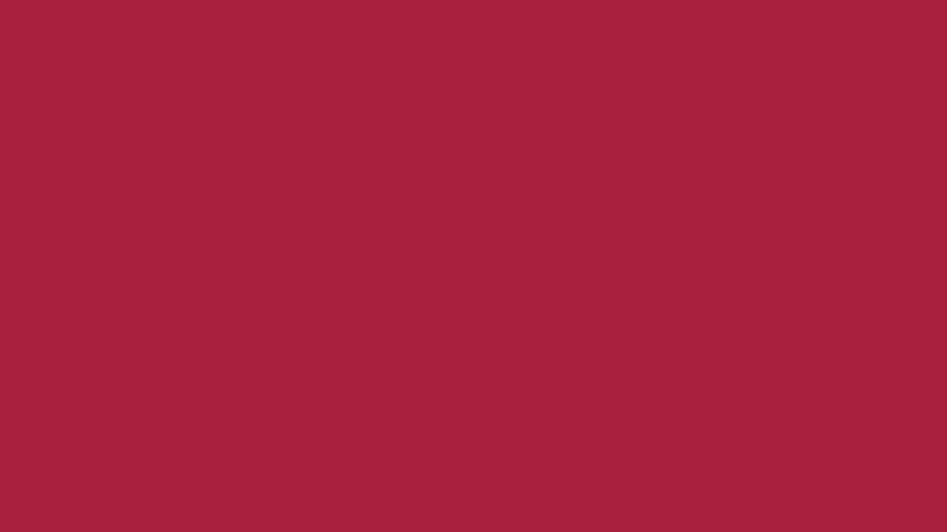 1366x768 Deep Carmine Solid Color Background