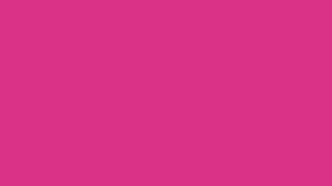 1366x768 Deep Cerise Solid Color Background
