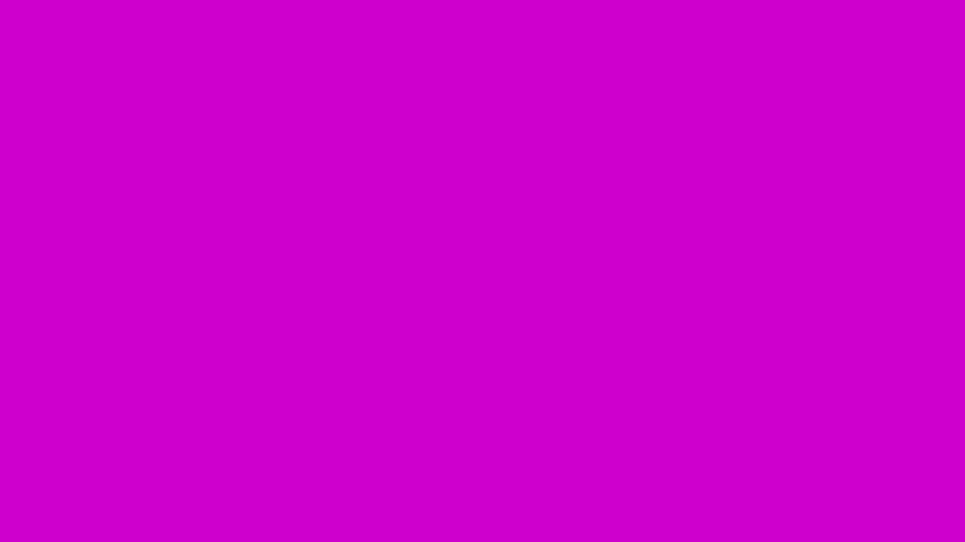 1366x768 Deep Magenta Solid Color Background