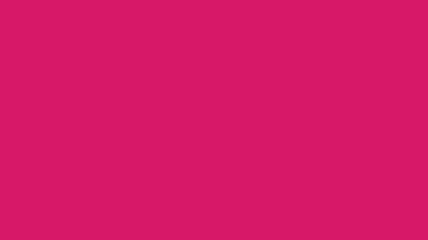 1366x768 Dogwood Rose Solid Color Background