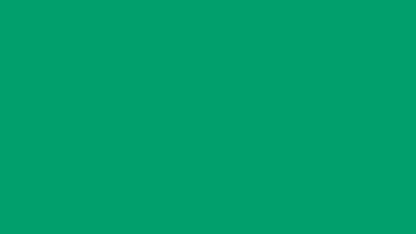 1366x768 Green NCS Solid Color Background