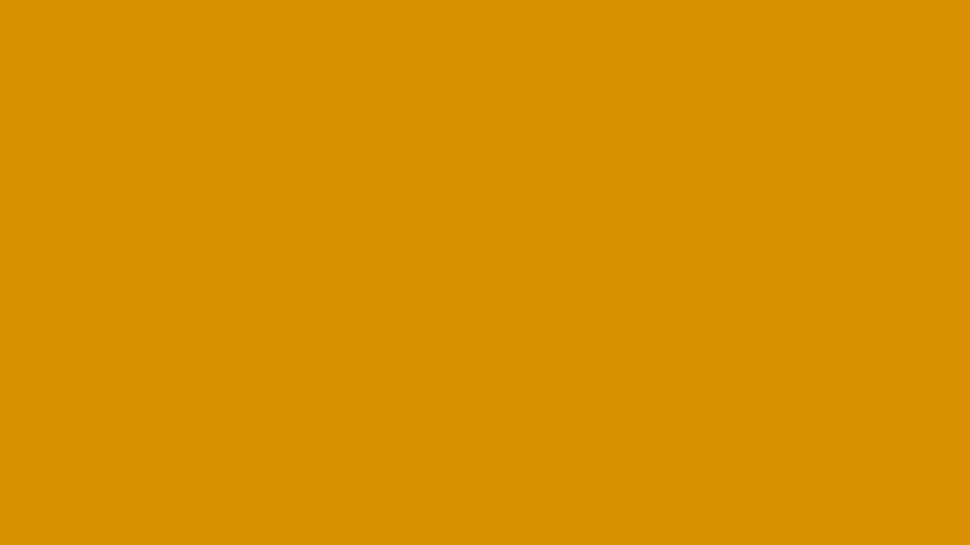 1366x768 Harvest Gold Solid Color Background