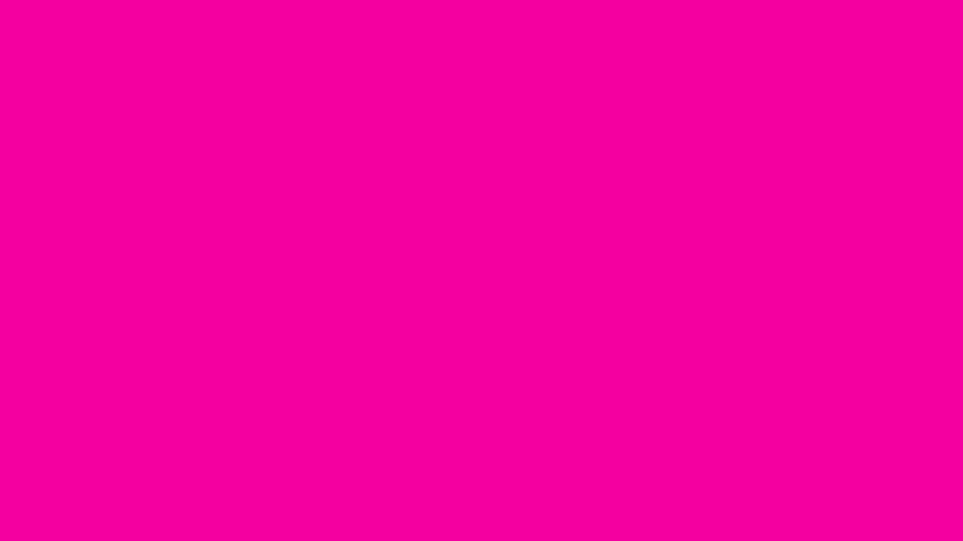 1366x768 Hollywood Cerise Solid Color Background