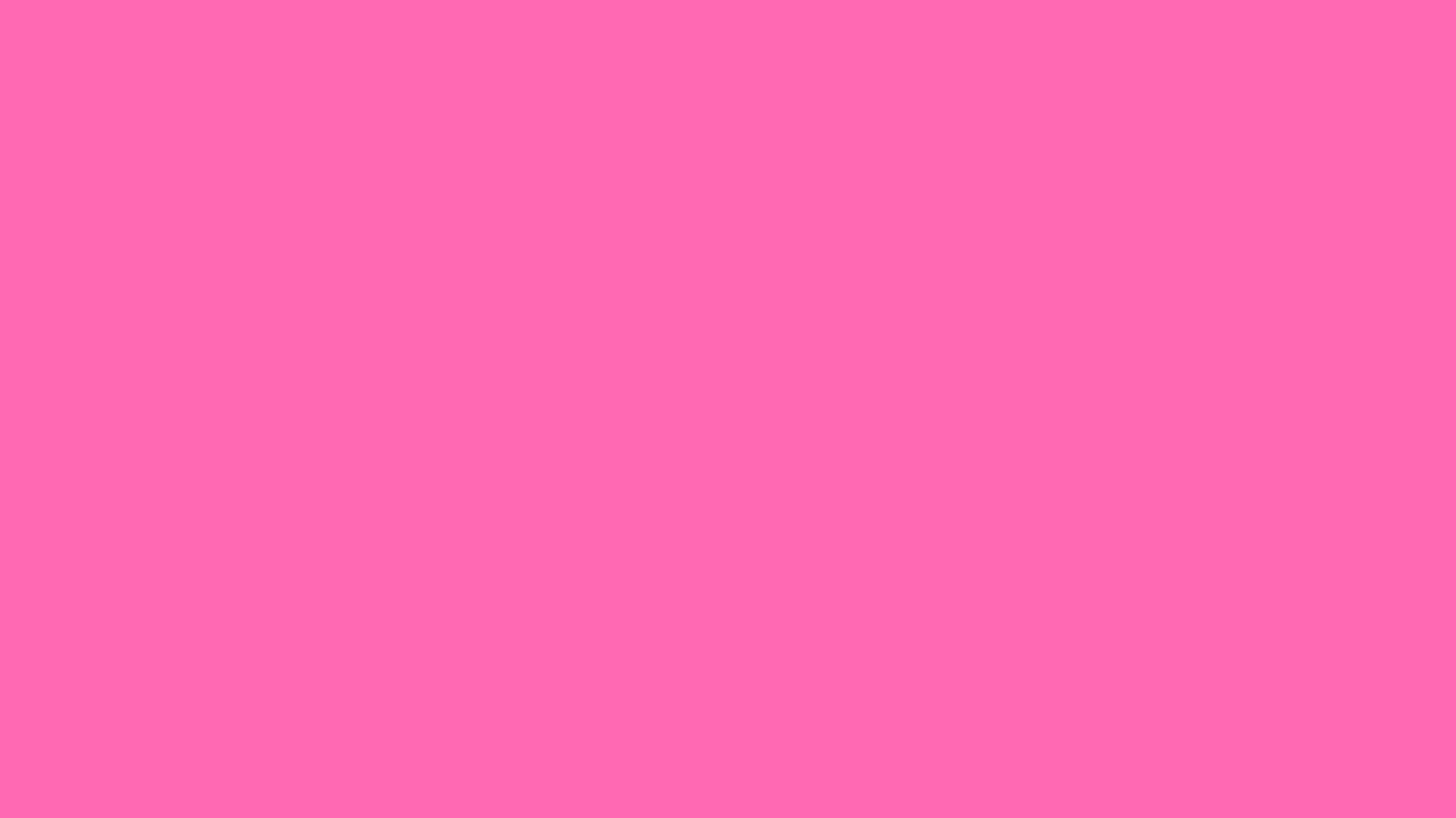 1366x768 Hot Pink Solid Color Background