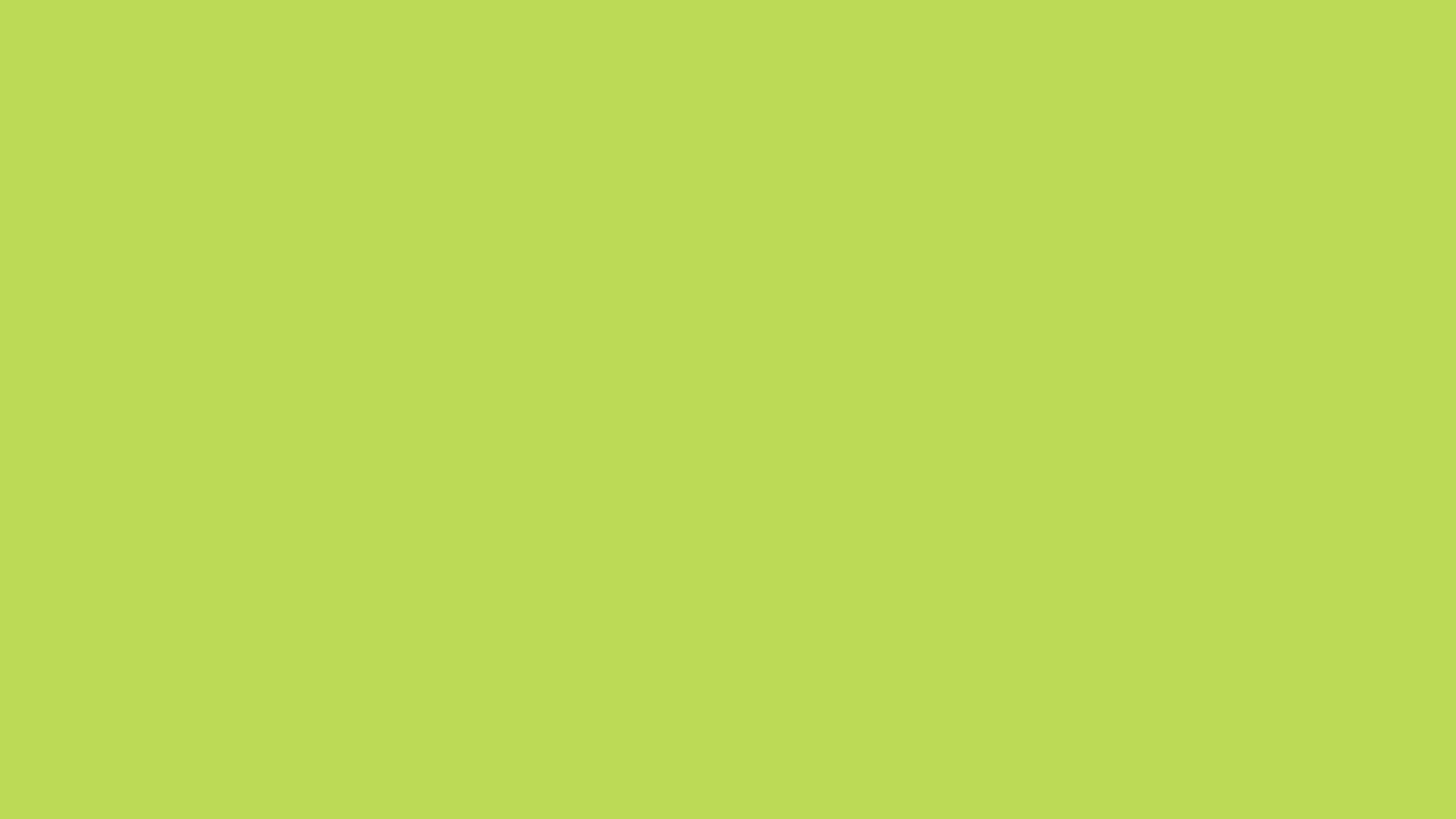 1366x768 June Bud Solid Color Background