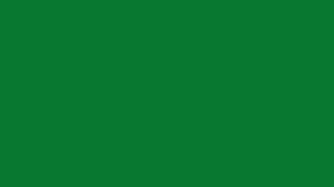 1366x768 La Salle Green Solid Color Background