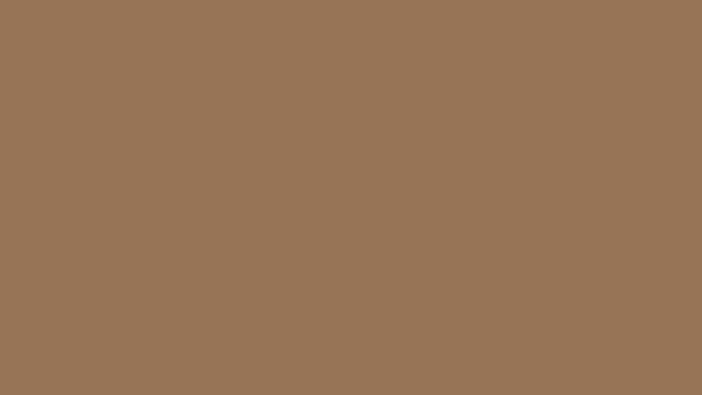 1366x768 Liver Chestnut Solid Color Background