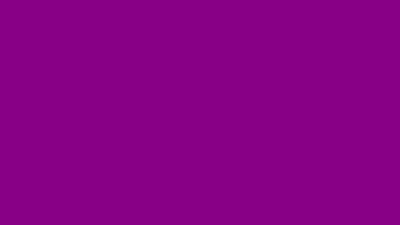 1366x768 Mardi Gras Solid Color Background