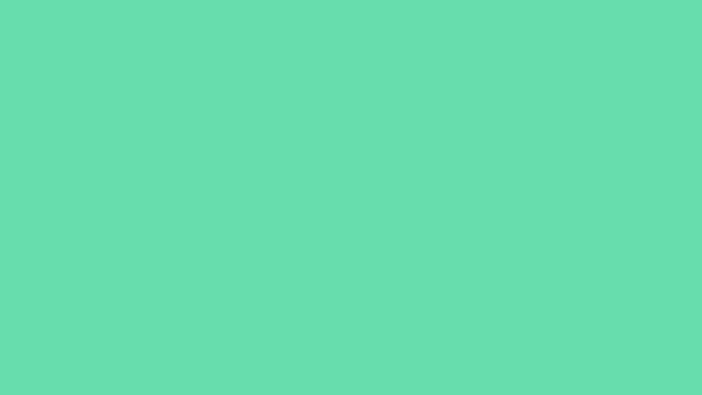 1366x768 Medium Aquamarine Solid Color Background