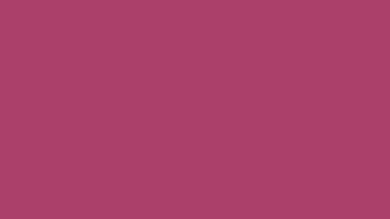 1366x768 Medium Ruby Solid Color Background