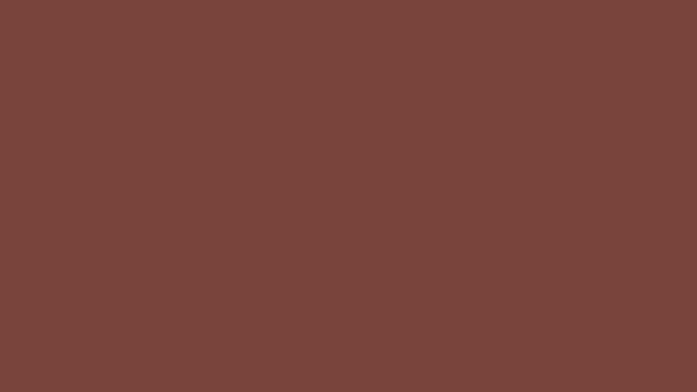 1366x768 Medium Tuscan Red Solid Color Background