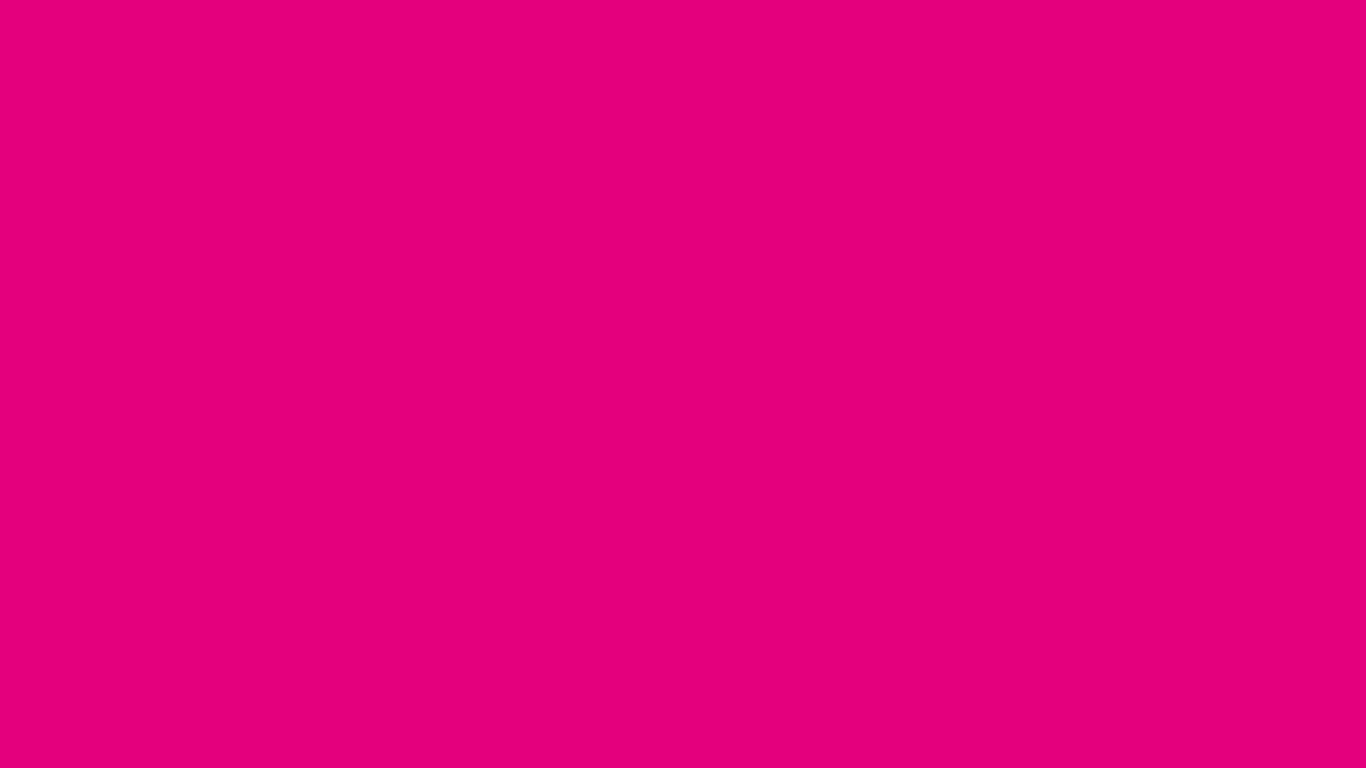 1366x768 Mexican Pink Solid Color Background