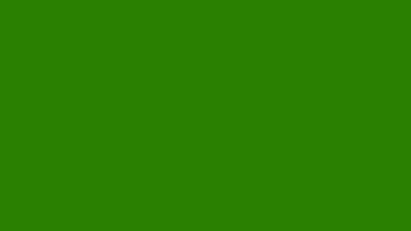 1366x768 Napier Green Solid Color Background