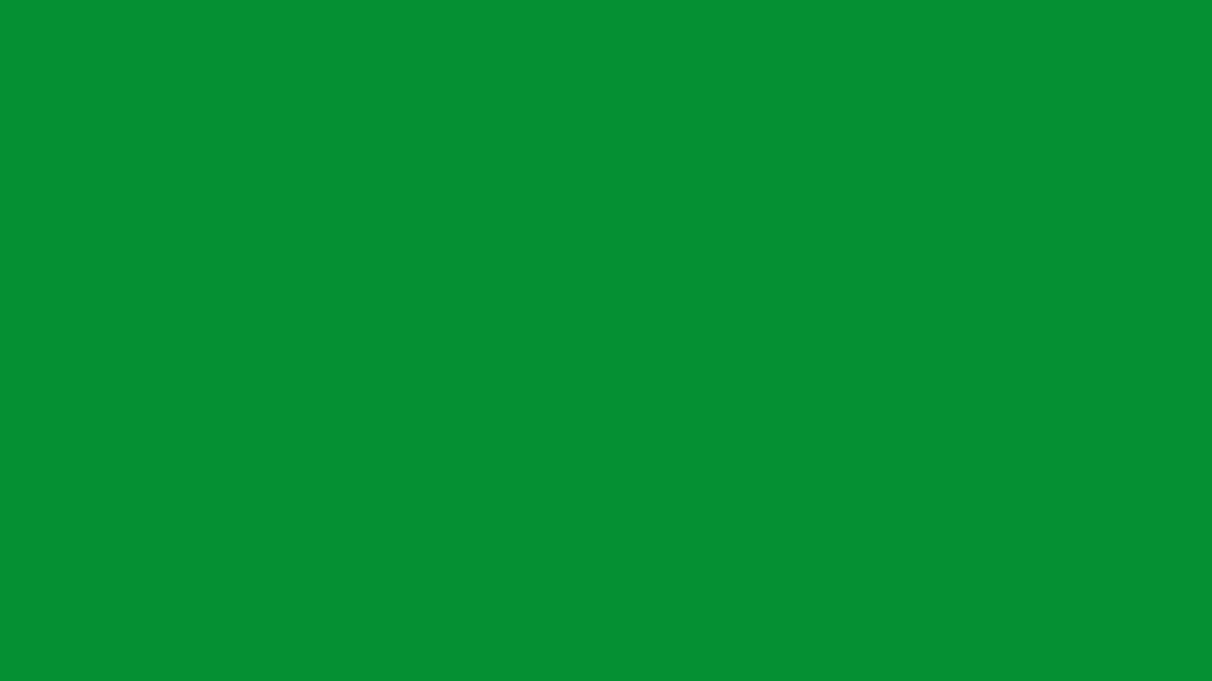 1366x768 North Texas Green Solid Color Background