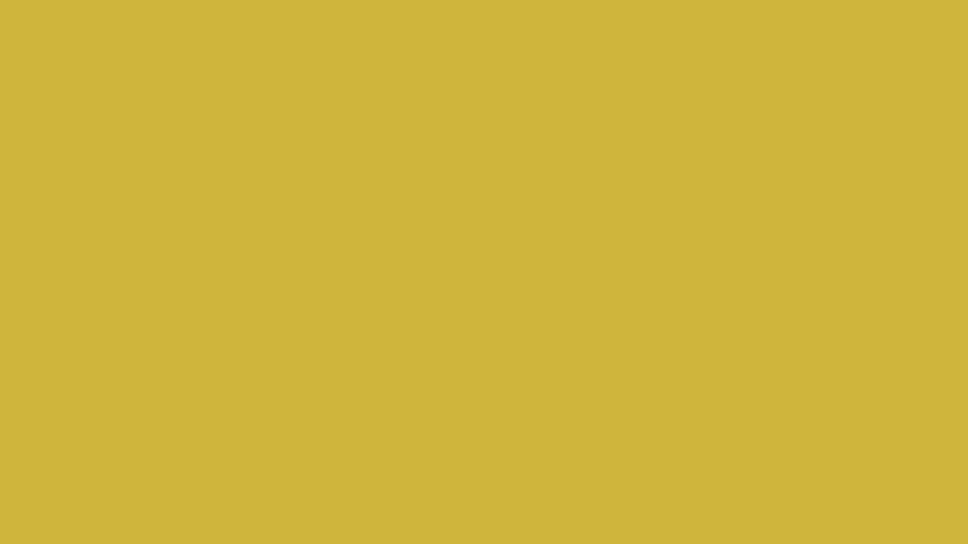 1366x768 Old Gold Solid Color Background