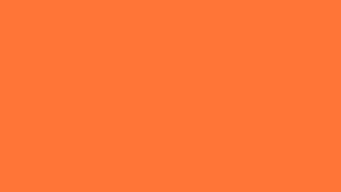 1366x768 Orange Crayola Solid Color Background