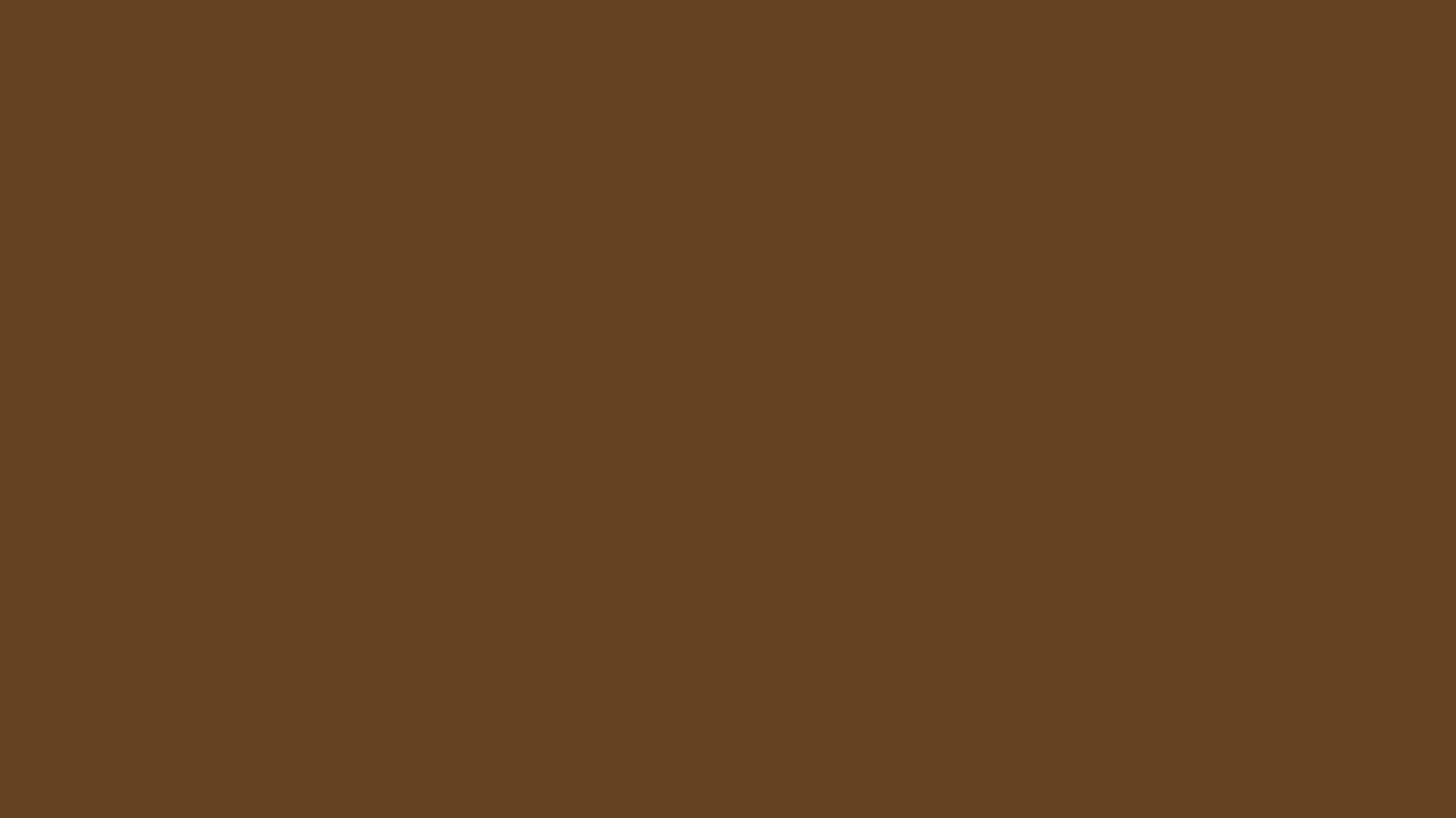 1366x768 Otter Brown Solid Color Background