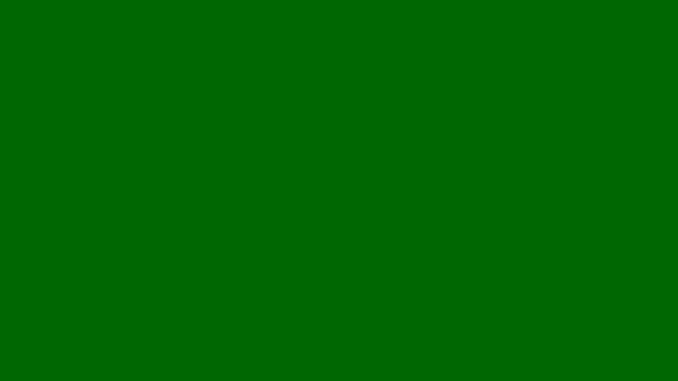 1366x768 Pakistan Green Solid Color Background