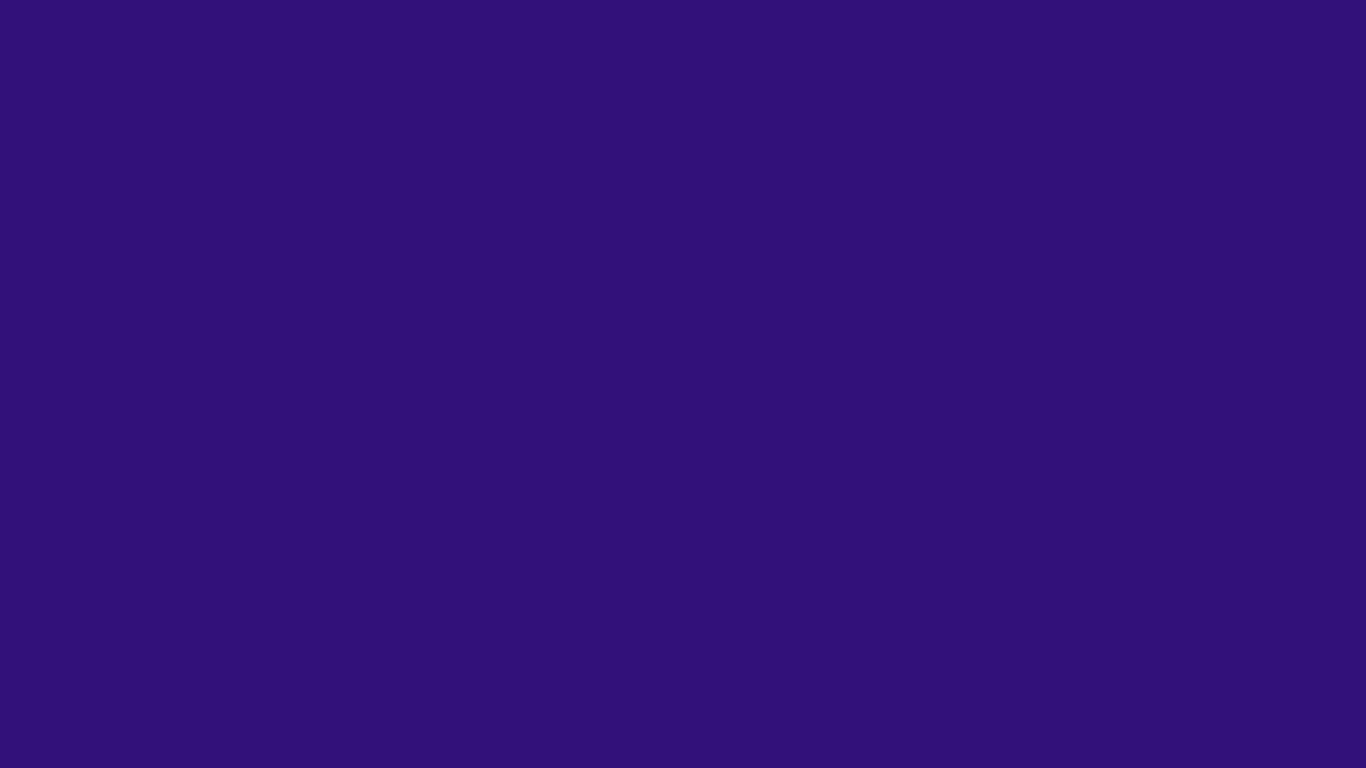 1366x768 Persian Indigo Solid Color Background