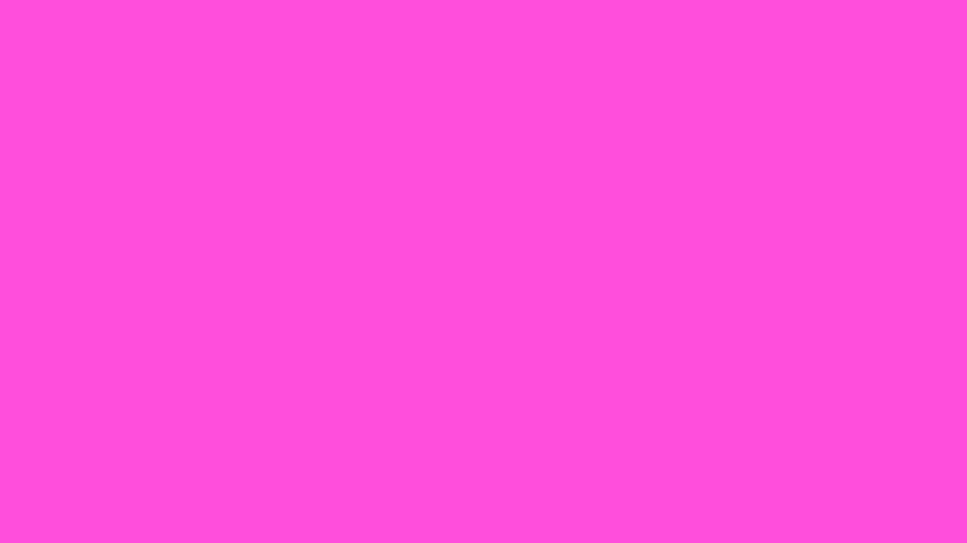1366x768 Purple Pizzazz Solid Color Background
