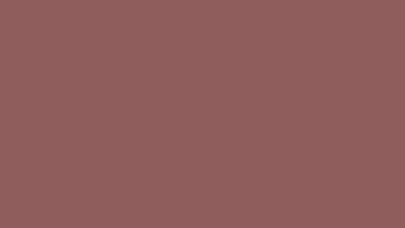 1366x768 Rose Taupe Solid Color Background