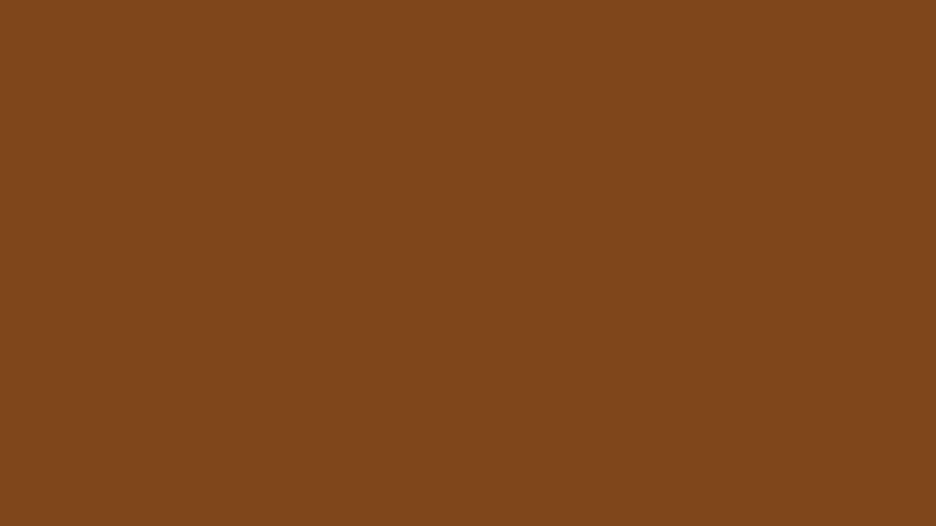 1366x768 Russet Solid Color Background