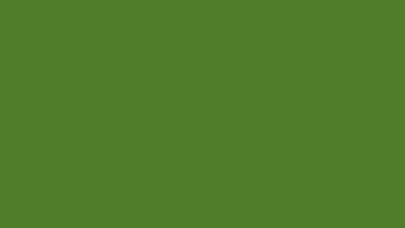 1366x768 Sap Green Solid Color Background