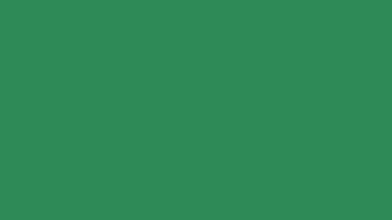 1366x768 Sea Green Solid Color Background