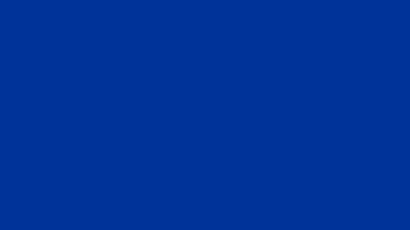 1366x768 Smalt Dark Powder Blue Solid Color Background